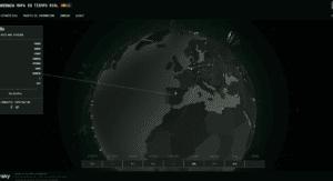Imagen del portal de ciberamenazas de kaspersky