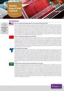 Weekly Export Risk Outlook 21-3-19