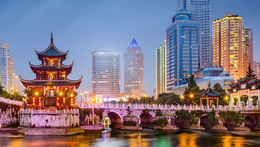 Comercio en China