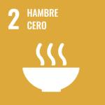 logotipo ODS 2: hambre cero