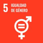 logotipo ODS 5: igualdad de género