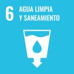 Logotipo ODS 6: agua limpia y saneamiento