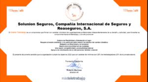 Charter del teletrabjo emitido para Solunion